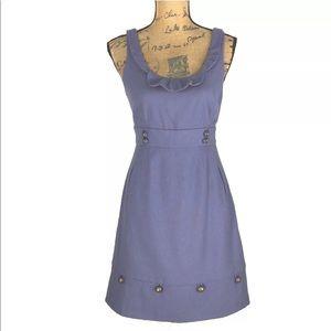 Anthropologie Dress 4 Sm Moulinette Soeurs Blue